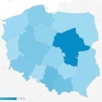 mapa demograficzna