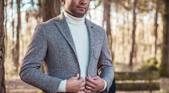 Odzież wierzchnia dla eleganckiego mężczyzny